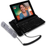 CTA Digital Bluetooth Keyboard With Telephone Handset for iPad & iPhone