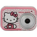Sakar 2.1Mp Hello Kitty Digital Camera with 3 Interchangeable Faceplates