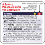 PhotoBert Cheat Sheet for Canon Digital Rebel T4i / 650D DSLR Camera