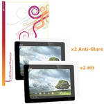 rooCASE Clear Screen Protectors for the Asus Transformer Pad Infinity TF700T (4 Pack)