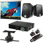 Optoma Technology ML500 Portable Projector Conference Room Package