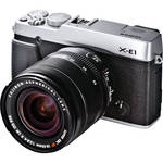Fujifilm X-E1 Digital Camera Kit with XF 18-55mm f/2.8-4 OIS Lens (Silver)