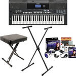 Yamaha PSR-E433 Value Bundle