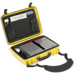 Seahorse 710CC Laptop Computer Case with Lid Organizer and Laptop Tray (Safety Yellow)