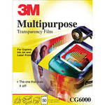 3M CG6000 Multipurpose Transparency Film / 50 Per Box