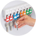 Carl CUI80098 32 Assorted Colored Key Tags