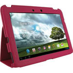 rooCASE Ultra-Slim Vegan Leather Folio Case for Asus Transformer Pad Infinity TF700T (Magenta)