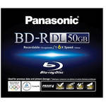 Panasonic BD-R 50 GB Single Sided Dual Layer Recordable Blu-ray Disc
