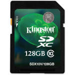 Kingston 128GB SDXC Memory Card Class 10