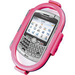 Aryca Whirl Waterproof Push Button Phone Case (Pink)