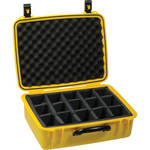 Seahorse 720D Case with Divider Inserts (Safety Yellow)