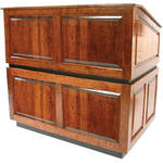 AmpliVox Sound Systems Ambassador Lectern (No Sound, Natural Cherry)