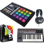 Native Instruments MASCHINE MIKRO MK2 Groove Production Studio Kit (Black)