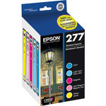 Epson 277 Claria Photo Hi-Definition Ink Cartridge Multi-Pack (5 Colors)