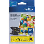 Brother LC75Y Innobella High Yield XL Series Yellow Ink Cartridge