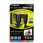 Xtreme Cables High Speed Micro HDMI Cable (6')