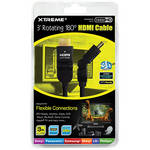 Xtreme Cables Rotating Angle HDMI Cable (3')