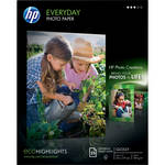 "HP Everyday Glossy Photo Paper (8.5x11"" - 25 Sheets)"