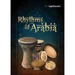 Big Fish Audio Rhythms of Arabia DVD (Apple Loops, REX, WAV, RMX, & Acid Formats)