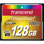 Transcend 128GB CompactFlash Memory Card Ultimate 1000x UDMA