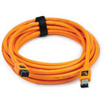 Tether Tools TetherPro FireWire 800 9-Pin to FireWire 400 6-Pin Cable (Orange, 15')