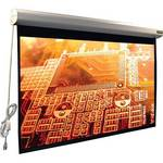 "Vutec 43 x 57"" Elegante Plug-and-View Motorized Projection Screen (Matte Gray)"