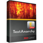 Red Giant Text Anarchy - Academic (Download)