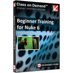 Class on Demand Training Video (Streaming On Demand): Beginner Training for Nuke 6