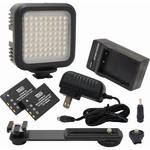 Vidpro LED-70 Digital Photo & Video LED Light Kit