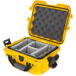 Nanuk 905 Case with Padded Dividers (Yellow)