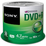 Sony Recordable Storage DVD+R (Pack of 50)