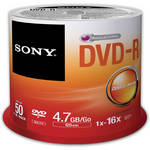 Sony Recordable Storage DVD-R (Pack of 50)