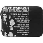 "Incase Designs Corp Warhol Protective Sleeve for 11"" MacBook Air (Chelsea Girls, Black)"