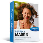 onOne Software Perfect Mask 5.2 Premium Edition Software (Academic / Government, CD/DVD-ROM)