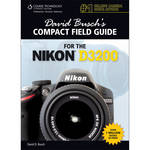 Cengage Course Tech. Book: David Busch's Compact Field Guide for the Nikon D3200