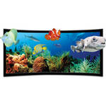 Vutec SST3DP054-127BVF SilverStar 3D-P Curved Ultra Thin Fixed Frame Projection Screen
