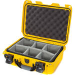 Nanuk 915 Case with Padded Dividers (Yellow)
