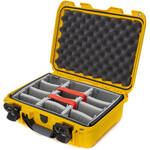 Nanuk 920 Case with Padded Dividers (Yellow)