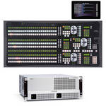For.A HVS-4000 Video Switcher with 2.5 M/E 24-Button Control Panel