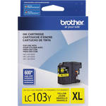 Brother LC103Y Innobella High Yield Yellow Ink Cartridge