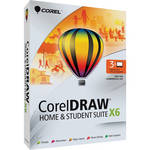 Corel CorelDRAW Graphics Home & Student Suite X6 (Boxed Version)