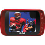 "RCA 3.5"" LED Portable Digital TV (Red)"