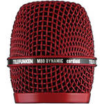 Telefunken Replacement Grill for the Telefunken M80 Dynamic Microphone (Red)