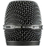 Telefunken Replacement Grill for the Telefunken M80 Dynamic Microphone (Black/Nickel)
