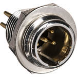 Neutrik TINY XLR Male 5-Pole Chassis Connector (5-Pole)