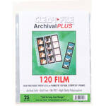 ClearFile Archival Plus Negative Page, 6x6cm - 25 Pack