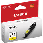 Canon CLI-251Y Standard Capacity Yellow Ink Tank