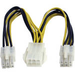 "StarTech 6"" (15.24cm) PCIe Power Splitter Cable"