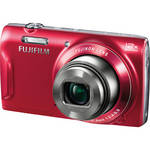 Fujifilm FinePix T550 Digital Camera (Red)