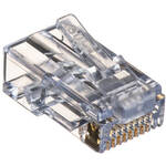 Platinum Tools EZ-RJ45 CAT6 Connectors (Clamshell Packaging, 10-Pieces)